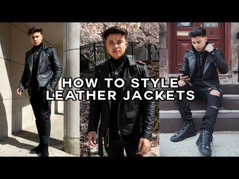 How to Style A Leather Jacket | 2019 Lookbook (Boda Skins)