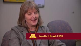 2017 Alumni Awards | Janny Brust receives Outstanding Mentor Award