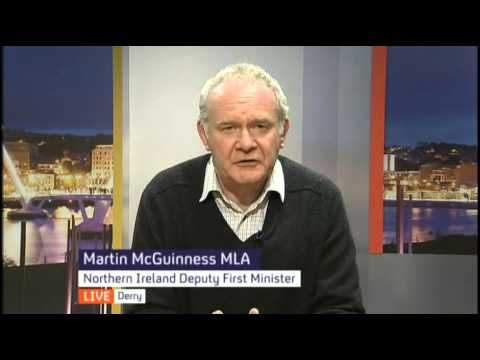 Martin McGuinness on the death of Ian Paisley Snr