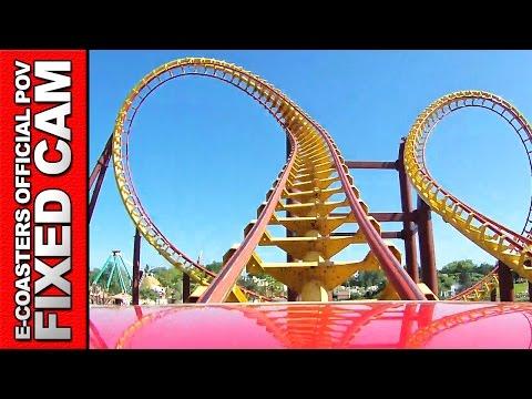 Goudurix Parc Asterix - Roller Coaster POV On Ride MK 1200 Vekoma (Theme Park France)