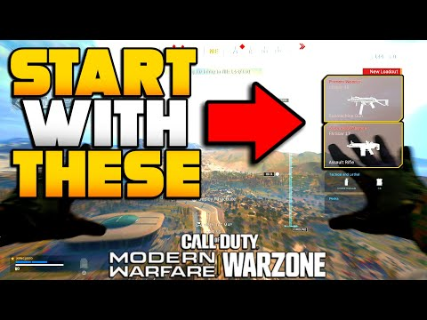 How to Start WARZONE BR with Your PreMatch Weapons | Modern Warfare BR Tips | JGOD