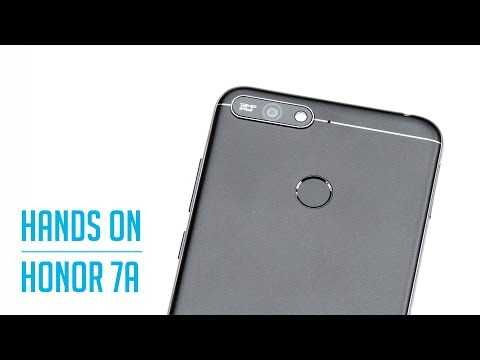Honor 7A  - Hands On