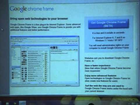 Chrome Frame: HTML5 Sooner