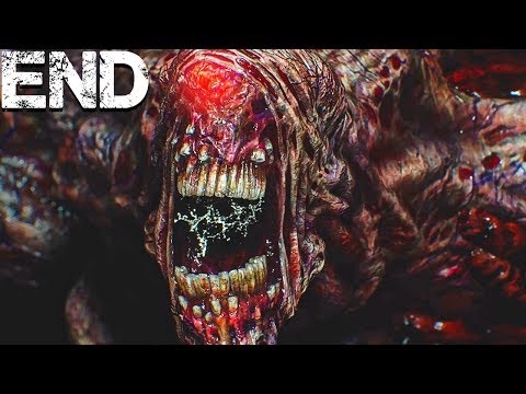 Resident Evil 3 Remake   NEMESIS FINAL STAGE BOSS! - Part 6 (ENDING)