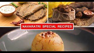 Navaratri Special Recipes | Kuttu Ke Pakore | Kuttu Ka Cheela | Aloo Ka Halwa