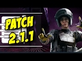 Rainbow Six Siege Patch 2.1.1 Notes Release date Feb 21 2017