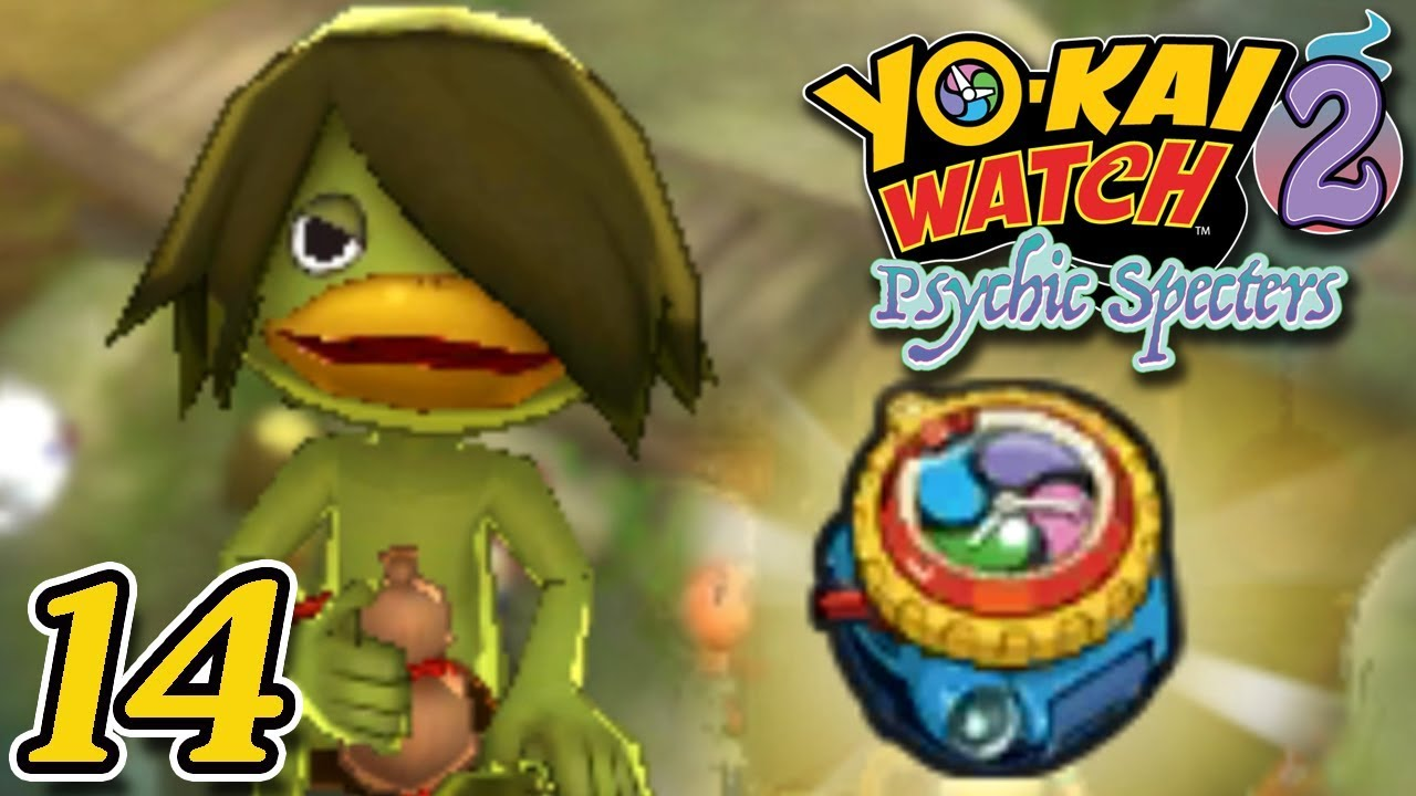 YO KAI WATCH 2 PSYCHIC SPECTERS ~ FAUX KAPPA AND MODEL ZERO ~ Part 14 ~ Gameplay Walkthrough