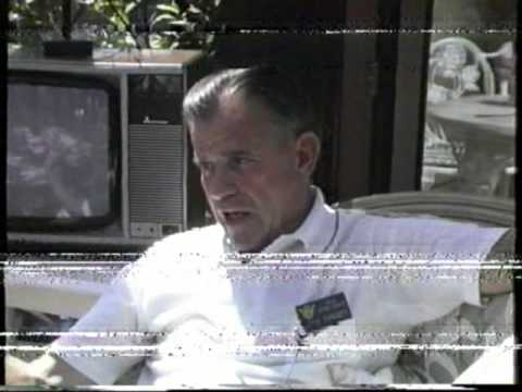 REUNION 1989 UK,Part (4) 92nd BG Vets Talking on Camera,