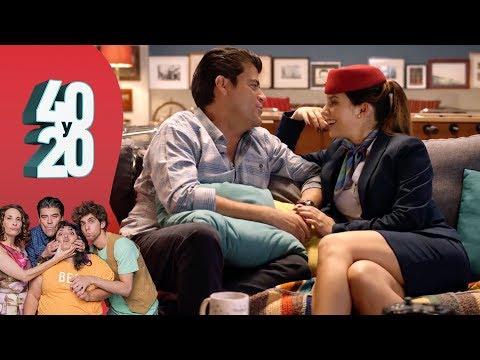 40 y 20 - T3 - C-07   Masha la azafata rusa - Distrito Comedia