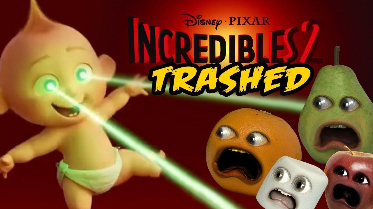 Annoying Orange And Pear Plays Super Mario Maker Thunderwear