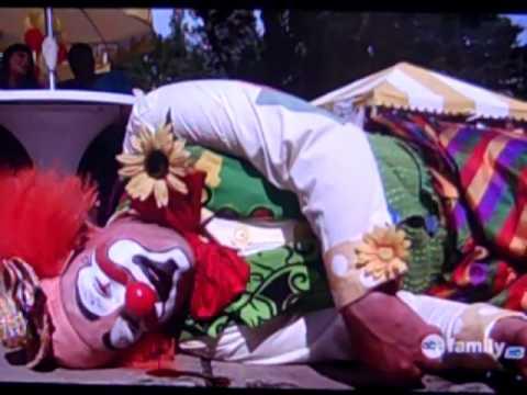Image result for happy gilmore clown bleeding