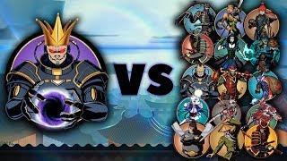 Shadow Fight 2 - Супер Титан против Всех Боссов 2019 года!
