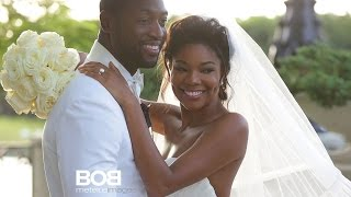August 31, 2014 - WSVN - Dwyane Wade and Gabrielle Union Marry in Intimate Wedding at Miami Castle