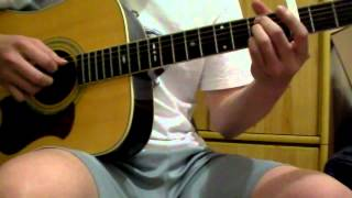 T-ara with Davichi - We were in love Solo Guitar Cover.wmv