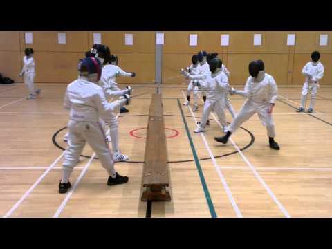 Fencing - truly a team sport 2 - Kids