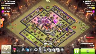 [Clash of Clans] | CB LaLoon | TH10 | 3stars #030