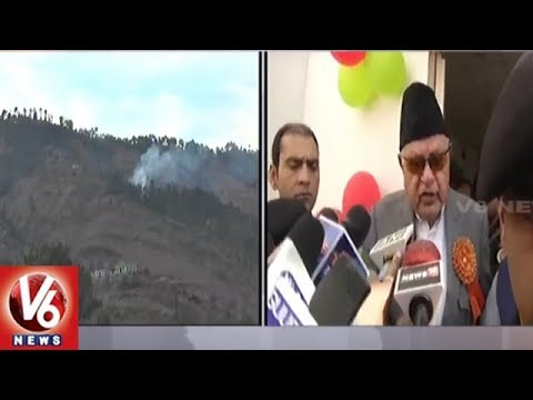 Farooq Abdullah: Indo-Pak Shelling Will Stop Only When Two Nations Start Thinking Of Peace | V6 News