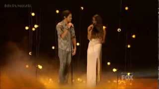 Alex and Sierra Gravity  Top 4 The X Factor USA 2013