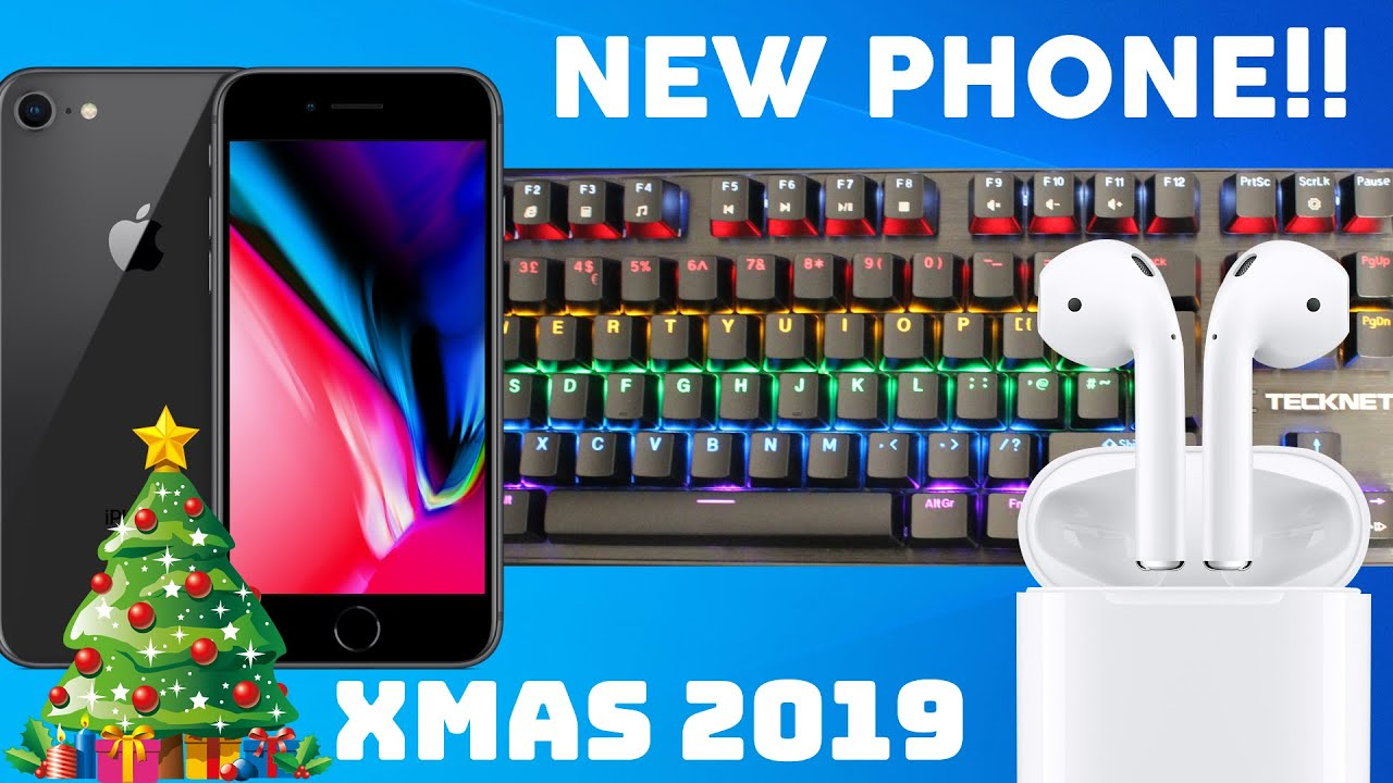 Christmas 2019 (New Phone, Monitor and Gaming Keyboard!!!)