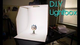 DIY LIGHTBOX under $10 DOLLARS