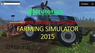 como BAIXAR E instalar o farming simulator 2015