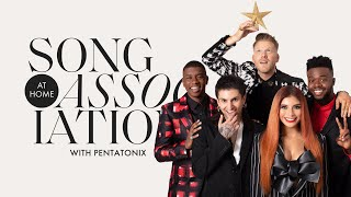 Pentatonix Sings Beyoncé, Ariana Grande, and Lady Gaga in a Game of Song Association | ELLE