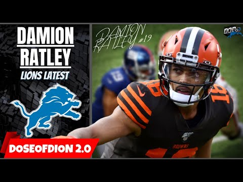 Lions SIGN Damion Ratley: More Speed/ Receiver Help: Lions News