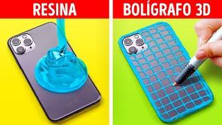 RESINA VS. BOLÍGRAFO 3D || MANUALIDADES ORIGINALES