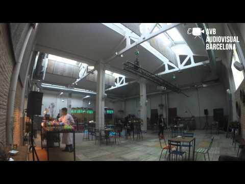 Audiovisual Barcelona, Technology and Food Event near Sagrada Familia, Barcelona