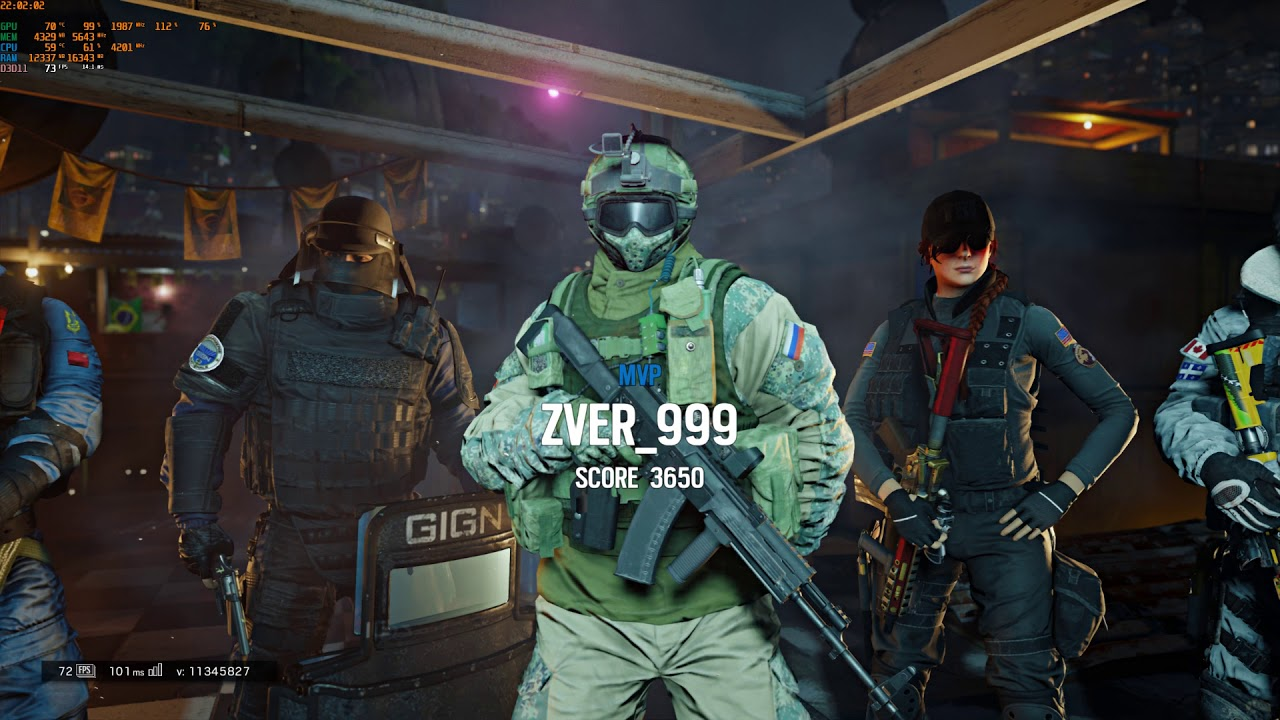 Tom Clancy's Rainbow Six Siege ultra 1440p 1080ti 144hz