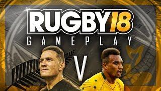 Video RUGBY 18 GAMEPLAY | ALL BLACKS VS WALLABIES | RAW FOOTAGE FULL MATCH download MP3, 3GP, MP4, WEBM, AVI, FLV Agustus 2018