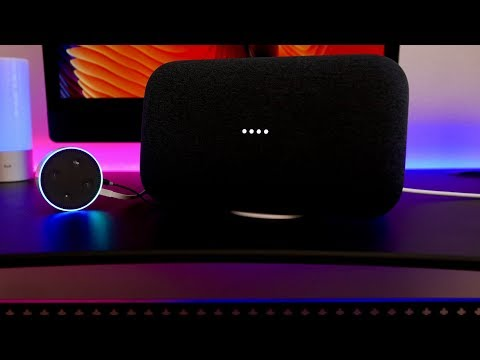 AMAZON ALEXA working on the GOOGLE HOME MAX Speaker!?