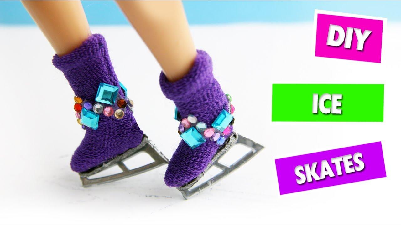 Diy doll ice skates easy doll crafts simplekidscrafts youtube solutioingenieria Images