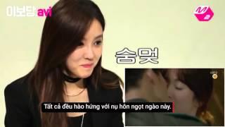 """Phản ứng của Sao Hàn trước cảnh hôn trong """"Hậu duệ mặt trời"""""""