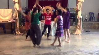 Prepare Ye the Way Dance Tutorial 1 - Eksilah Dance Team