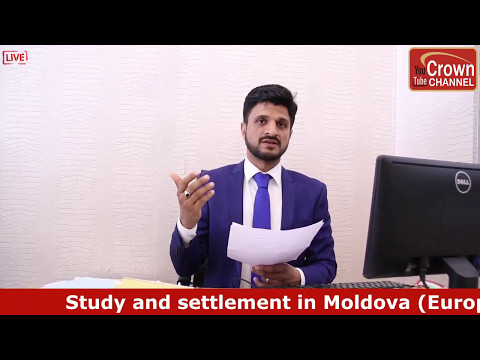 Study and Settlement in Moldova Europe Satish Kumar Bhargava Moldova Visa