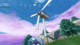 Visit Different Wind Turbines in a Single Match - Week 5 Season 9 Fortnite Challenge Guide