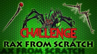 The Araxxor from Scratch Challenge!   Race to a Noxious Weapon   Runescape 3 2018