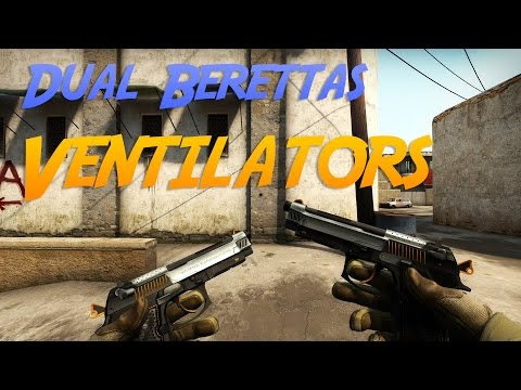 CS:GO Dual Berettas | Ventilators Showcase