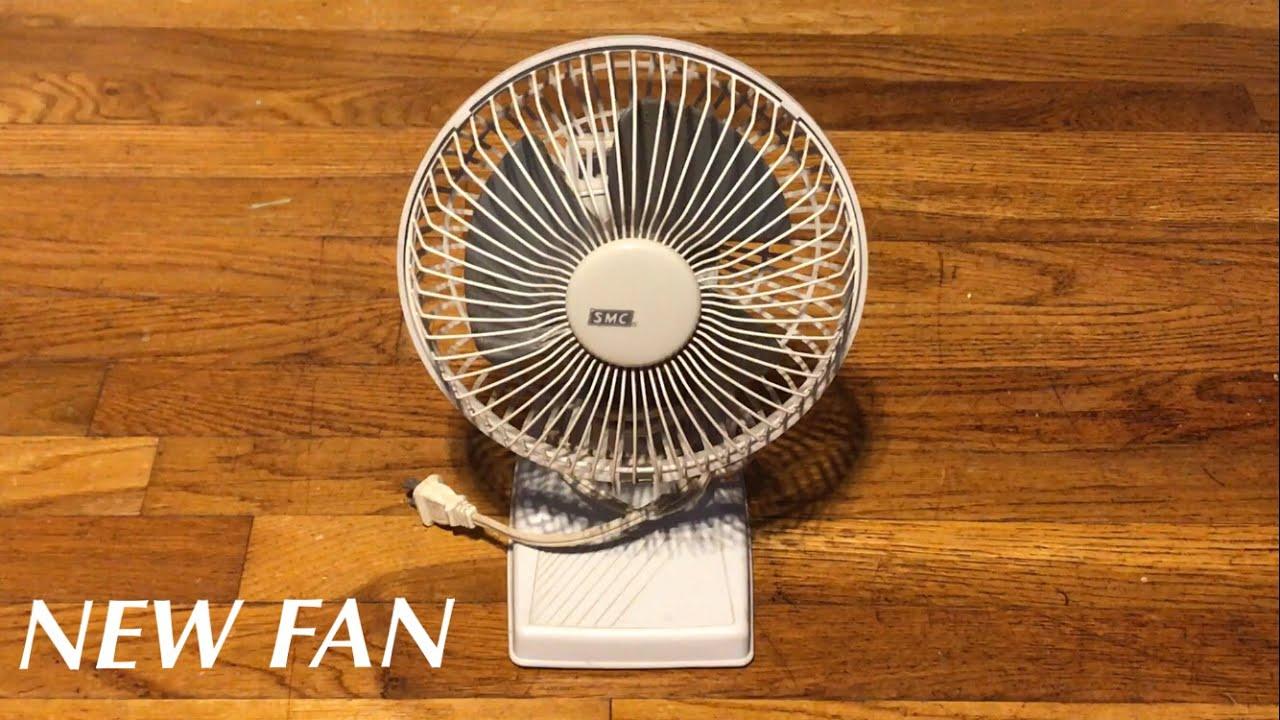 From Smc Stand Fan : New fan smc desk quot youtube