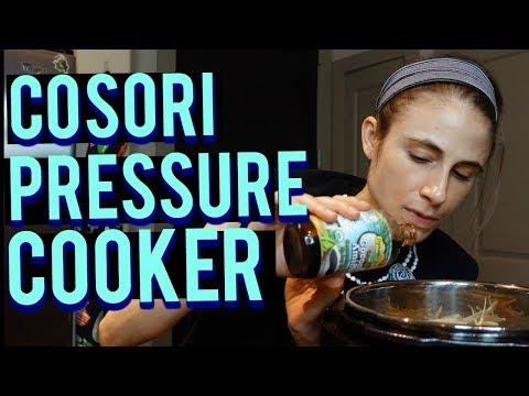 Cosori Pressure Cooker Recipe| Cook with me (vegan)| Dr Dray