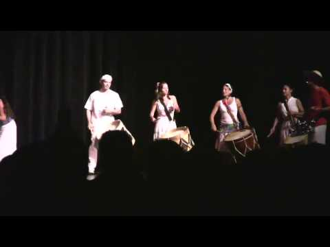 Maracatu Jangada Playing Drumscape 2009 at UCSD
