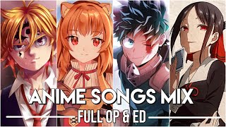 Anime Openings & Endings Mix #2 │Full Songs