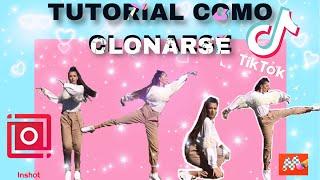 TUTORIAL de como clonarse a si mismo en tiktok