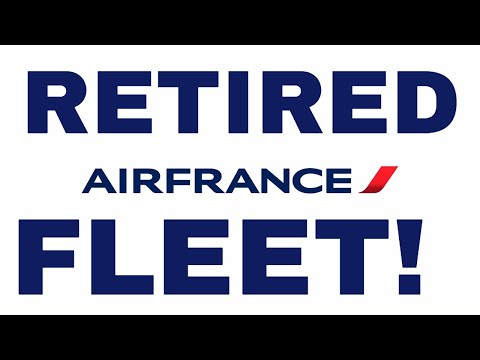 Air France Retired Fleet (1080p HD)
