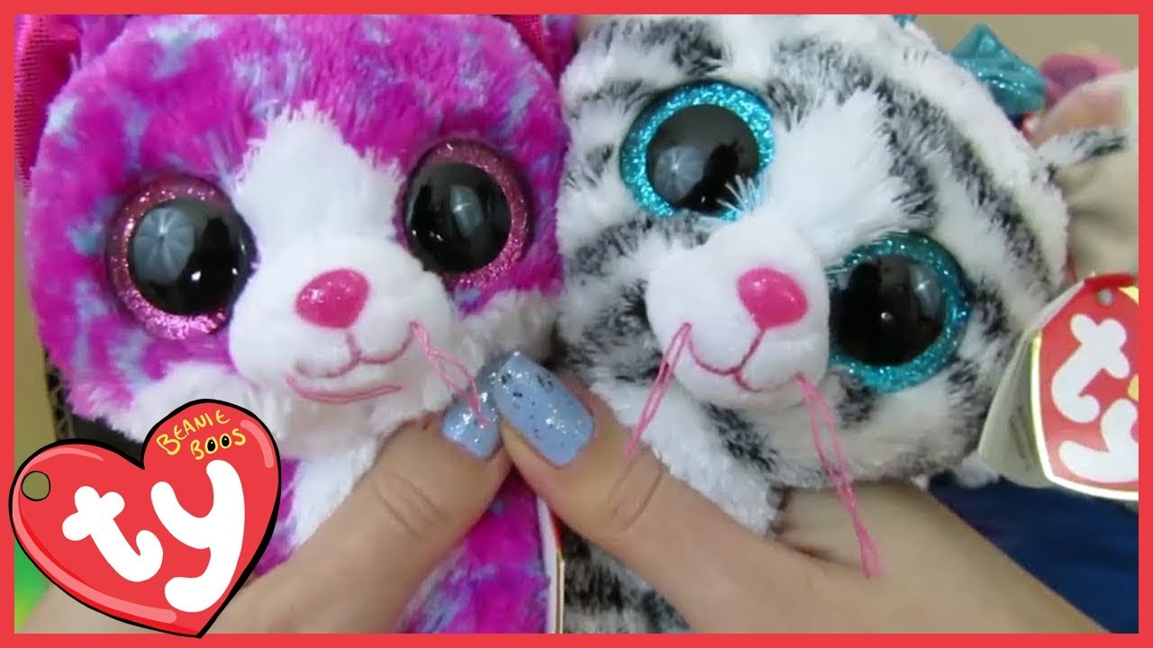Claire s Exclusive Beanie Boo TY Haul - YouTube c8bbd9111523