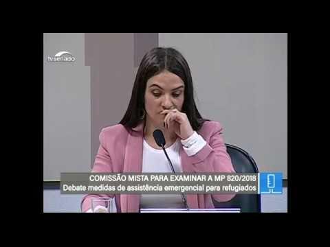 Assistência a venezuelanos - TV Senado ao vivo - MP 820 - 18/04/2018