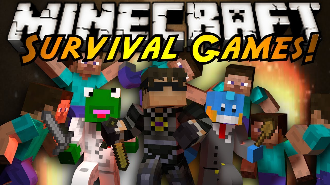 Minecraft Games And Gamers : Minecraft mini game survival games youtube