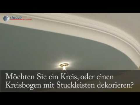 flexible stuckleisten flexible zierleisten kreative wandgestaltung youtube. Black Bedroom Furniture Sets. Home Design Ideas