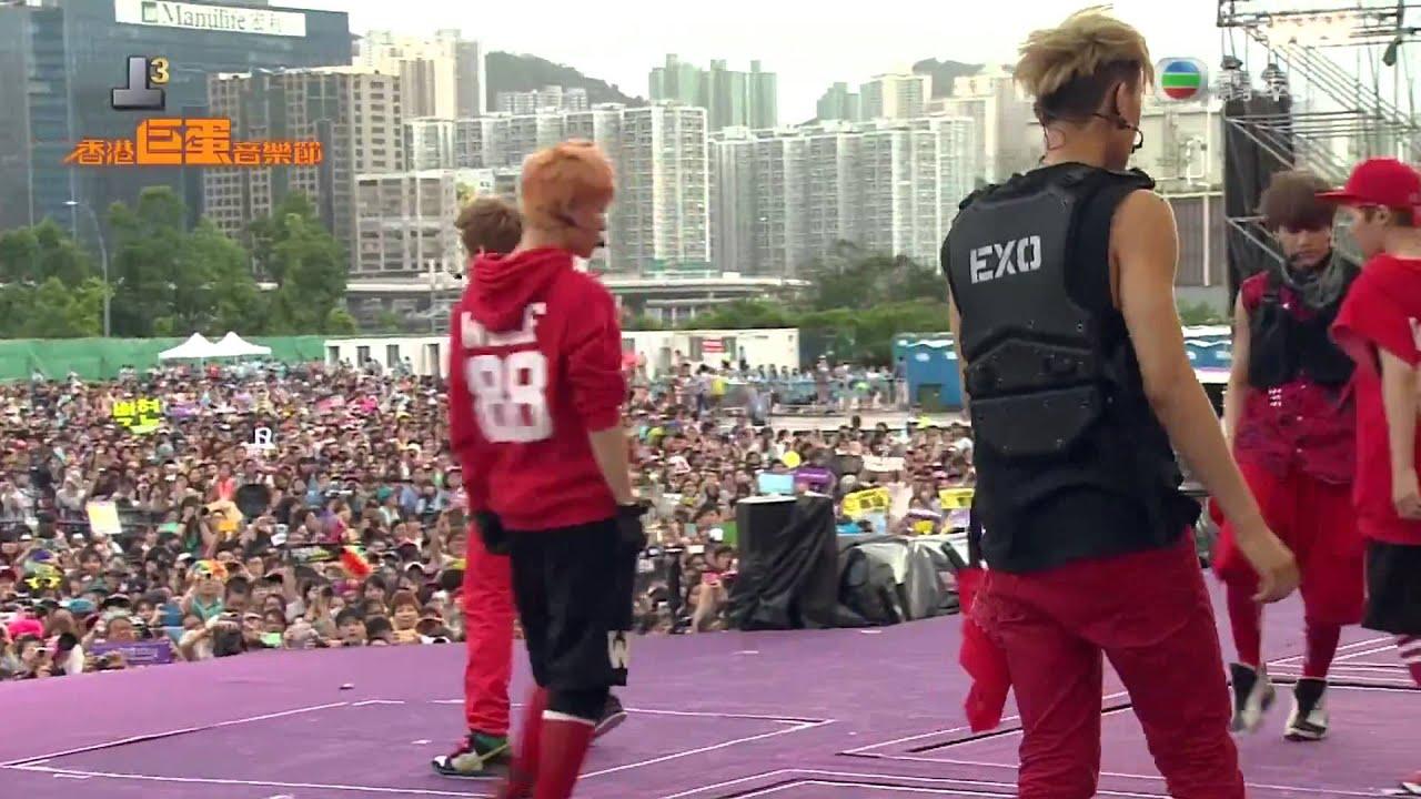 Download NEW!! [1080p HD] 130701 EXO - MAMA + History @ Hongkong Dome Festival